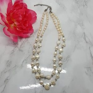 Baroque Style Pearl Necklace